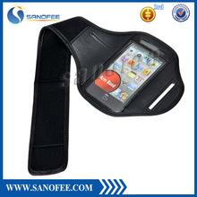 Customer logo accept nylon sport armband for mobile phone
