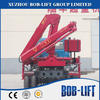 3 ton Mini China Used/New Small Hydraulic Mobile Knuckle Folding Boom Lorry Truck Mounted Crane Manufacturer for Sale SQ3.2ZA2