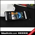 Pull Type Aluminum Metal Bumper Case for HTC One M7 Metal Bumper Cover Case