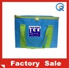 Promotional cheap beer can cooler bag with long shoulder