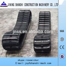 Yanmar excavator rubber track,rubber belt, Yanmar rubber track,VIO15,VIO20,VIO30,VIO35,VIO40,VIO55,VIO60,VIO75,VIO80,VIO90,V100