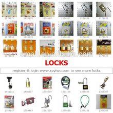 DRAWER SLIDE PUSH LOCK - One Stop Sourcing from China - Yiwu Market for Locks