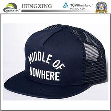 custom high quality mesh trucker cap print snapback trucker cap wholesale trucker hat