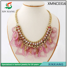 China elegant popular gold jewelry chain necklaces fashion handicraft