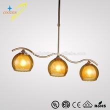 GZ20453-3P indoor glass down hanging light