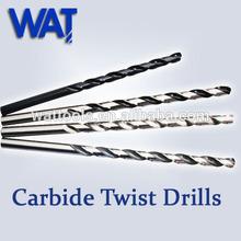 WAT Tungsten Carbide Drill Bits, Twist Drills