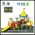 Crianças de madeira playground crianças equipamento de recreio ao ar livre( qx- 074a)