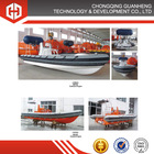 Marine high speed rigid inflatable boats