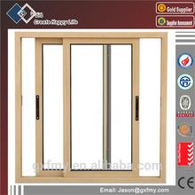 Office building aluminum frame horizontal glass sliding window