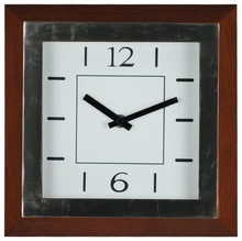 antique wooden wall clock raised digital number clock