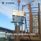 YZ130 Sheet pile driver machine Hydraulic vibratory hammer