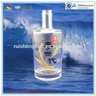 High quality printing label spray glass bottles
