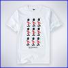 100% t-shirt fabric,funny cartoon t-shirt printing,classic basic white tshirt