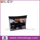 custom neoprene pvc clear travel kit bag with side pocket