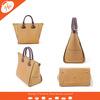 AL-120062 Beige Hot sale New 100% Genuine Leather Handbag Woman handbag shopping Bag