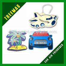 2015 hot car perfume guangzhou manufacturer hanging paper car air fresheners wholesale