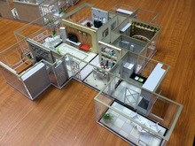 Architectural Scale Model, Interior Model of House Type