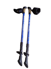TUV/GS approved cork grip telescopic carbon fiber expandable stick