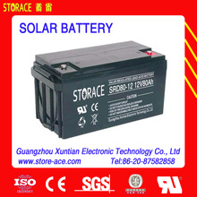 Solar Panel Battery 12v 80ah batteries for solar energy