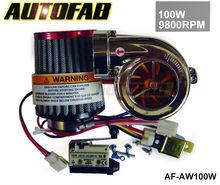 AUTOFAB - NEW MOTOR ELECTRICAL TURBOCHARGE 100W 9800RPM FOR PIT PRO / TUMPSTAR / ATV QUAD BIKE 125CC/500cc AF-AW100W
