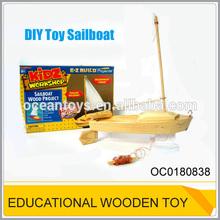 Đồ chơi bằng gỗ dự án tàu thuyền buồm gỗ OC0180838