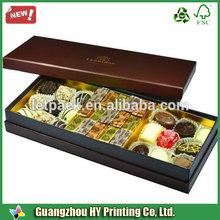 De haute qualité cercueil coffrets cadeaux/cercueil en forme de boîte de chocolat