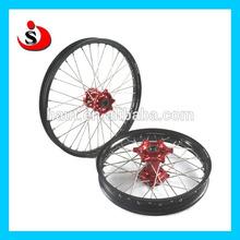 Motorcycle Spoke Rim Wheel Set And Nipples For CRF250 CRF450
