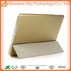 2014 best selling smart cover case for ipad 4,silk printing case for apple ipad 4,fashion pu leather case for ipad 4