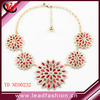 Women's New Contracted Flowery Flowers Drill Costly Short Fashion Necklace