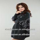 Hot new ladies stylish cashmere batwing dress