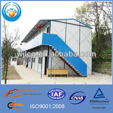 2 stories recycling portable prefab house