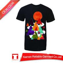Environment Friendly plain custom design t-shirt latest t shirt designs for men china online selling