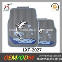 New design dolphin car floor mats in grey
