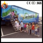 The latest truck mobile 7d cinema luxury 9 seat platform & cinema 7d equipment 5d Cinema Equipment