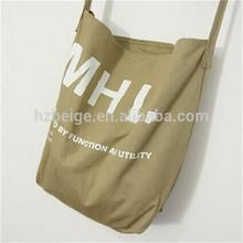 2014 newest fashionable korean plain canvas wholesale bum bags