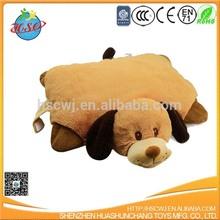 plush dog pillow plush animal throw pillow