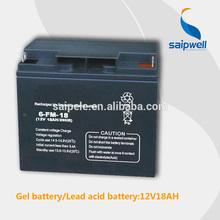 Advanced gel battery, lead acid battery, solar power storage battery
