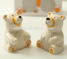 Bear Salt and Pepper Shaker Wedding Favors(HSD-WD-1654)