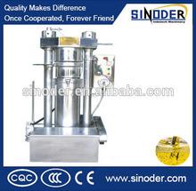 New designed cold pressing cocoa & coffee bean automatic Hydraulic oil press /oil mill /oil extruder machine