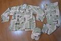 3 cor de camuflagem para o deserto de uniforme militar, bdu,