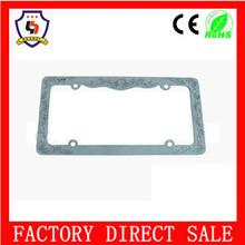 blank license plate frames/ license plate frame for new car / metal number plate frame HH-licence plate-(4)