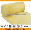Lower thermal conductivity glass wool insulation