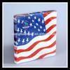 Printed Sanitary Paper Napkin With USA Flag Design