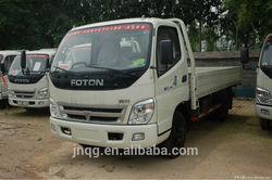 103hp FOTON wide cabin light cargo truck for sale