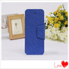 Top sell meteor rain flip stand PU leather case cover for Apple iphone 4 4S mobile phone