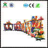 BIG Surprise amusement park electric trains for sale outdoor play mini train for kids made in china QX-130A