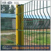 Anping Green PVC Welded Yard Guard Fence