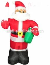 2015 hot selling chrismas inflatable santa claus decoration