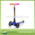 en kaliteli mini 3 tekerlekli scooter çocuklar için frenli