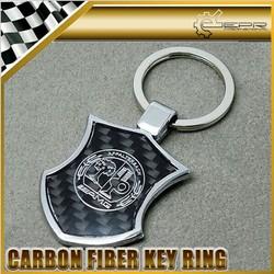 Most Sellable Slap-up Metal Carbon Fiber Key Chain